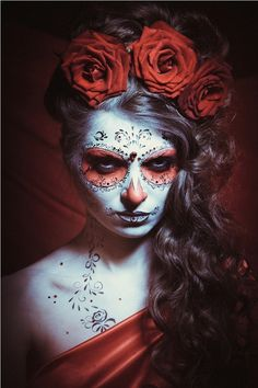 Zolotashko Make Up School  Sugar Skull | Halloween | Day of the Dead