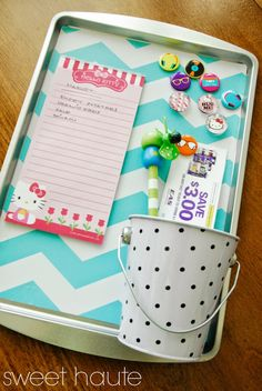 Cookie Baking Sheet DIY Magnetic Board Tutorial- SWEET HAUTE Home kitchen decor idea, pin now..read later!!