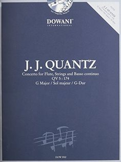 Read CONCERTO FOR FLUTE  STRINGS  AND BASSO CONTINUO IN G MAJOR QV5:174 BOOK AND CD, Online PDF