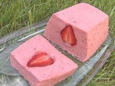 Terrine de fraise Sorbets, Mousse, Smoothies, Panna Cotta, Ice Cream, Pudding, Nutrition, Treats, Cookies