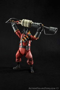 NECA Team Fortress 2 Pyro Action Figure