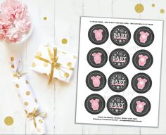 Baby Its Cold Outside Baby Shower Cupcake Toppers Its a
