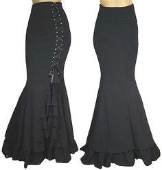 Chic star fishtail skirt