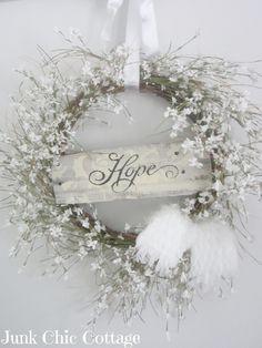 Shabby Chic wreath