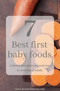 7 Best first baby foods, A better and more natural way to introduce solids I remember when my baby started showing some interest in food and I was a bit overwhelmed on what was best for him. I felt as though there were a lot of conflicting opinions and as Baby Feeding Chart, Baby Feeding Schedule, Newborn Schedule, Best First Baby Foods, Omnivore Diet, Fun To Be One, How To Find Out, Baby Food Recipes Stage 1, Healthy Baby Food