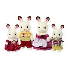 Famiglia Coniglio Cioccolato  Sylvanian