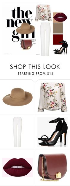 """""""Style du jour Créatif and Chic"""" by sofiabelkebir on Polyvore featuring mode, Armani Jeans, ESCADA, Boohoo et Victoria Beckham"""