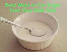 Brilliant! 10 easy ways to cut sugar from your kids' diet. http://www.milehighmamas.com/blog/2015/10/02/kick-sugar-from-diet/