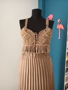 Hippie Festival, Festival Dress, Macrame Dress, Boho Dress, Slow Fashion, Boho Fashion, Recycled Dress, Curvy Girl Outfits, Dress Tutorials