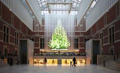 From Tokyo to Paris, we bring you our global edit of the festive season's most inspired Christmas creativity, scanning tremendous tree-stallations to department store window-works-of-art. With holiday greetings ranging from Rei Kawakubo's Tweedledum and Tweedledee to the Rijksmuseum's hologram light tree (pictured) by Droog, here we hail the people and places channelling the festive spirit …