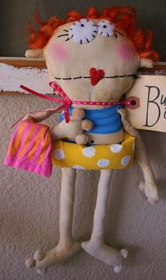 Lolly Dolly Chloe in a Bathing Suit di buttuglee su Etsy