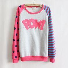 [ Magic ] de! Reunindo cartas velo dentro camisolas grande ponto e manga tarja nice design mulheres hoodies 4 cor 9064