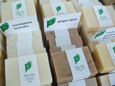 So You Want to Sell Your Soap? Learn how to get started in this post.