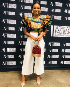 African Fashion Ankara, African Dresses For Women, African Print Fashion, African Attire, Classy Work Outfits, Dressy Outfits, Chic Outfits, African Blouses, African Tops