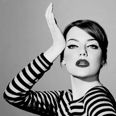Emma Stone - female equivalent of Jim Carey. Freaking adore her humor.
