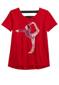 Sports Tee (original price, $24.90) available at #Justice