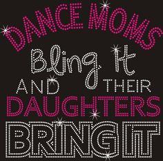 Arizona Rhinestone Dance Moms Transfer Ironon by ArizonaRhinestone, $14.99