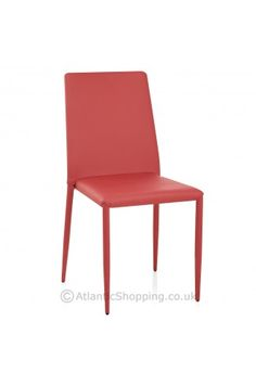 Jazz Stacking Dining Chair Red