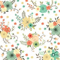 Nine & Co-NC1003 Flowers #teresacollinsdesigns #summer2014 #nine&co