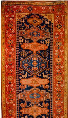 Antique Armenian carpet, mid. XIX century.