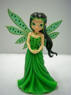 Prosperity Fairy Figurine Life Charms by Jasmine Becket Griffith | eBay