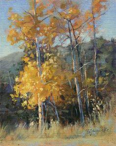 "Daily Paintworks - ""Golden Moment"" - Original Fine Art for Sale - © Barbara Jaenicke"