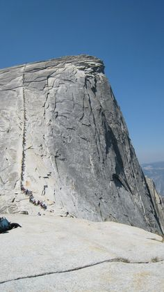 Climb Half Dome (with @Tess Calnero)