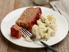 Meatloaf Is the Way to My Heart As Long As It Has Kick and Potatoes Are Around Recipe : Sunny Anderson : Food Network - FoodNetwork.com