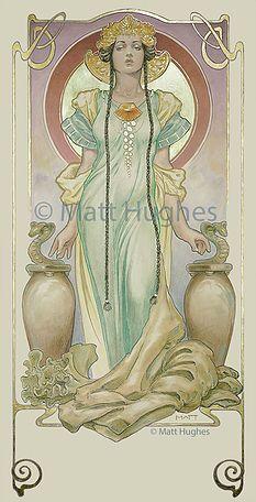 Matt Hughes - Gothic Art Nouveau