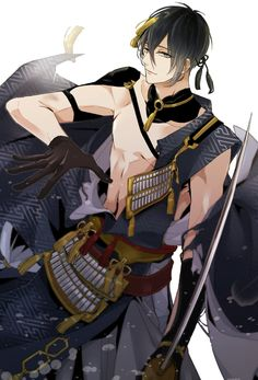 #tkrb #mikazuki  I do love you touken ranbu.  Someday I will be able to play.   ><  It's been..  Like 2 years now..