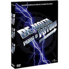 DVD De Volta Para o Futuro (3 DVDs)