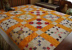 Fantastic Hand Stitched Antique Nine Patch Quilt 10 – 11 s P I   eBay, bgrboots
