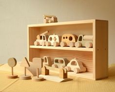 Toy Nakayoshi library of car set tree