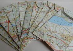 Landkaart zakjes