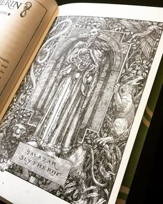 Have you seen Levi Pinfold's illustration of Salazar Slytherin in the Slytherin House Edition yet? #HarryPotter20