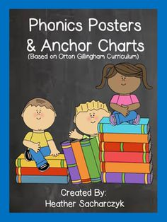 Make your room print rich with these colorful phonics posters! Anchor charts or…