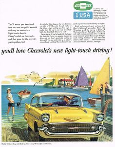 Vintage Ad #1,890: Chevy's Light Touch Driving | Flickr - Photo Sharing!
