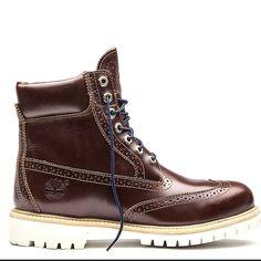 Wingtip Timberland Boots