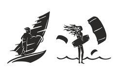 Create detailed silhouette shapes by Nickshevchenko | Fiverr Logo Images, My Images, Image Ready, Different Sports, Logo Design, Graphic Design, Kitesurfing, Freelance Illustrator, Silhouette Design