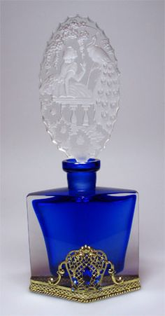 1930s Czech Perfume Bottle