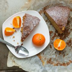 Delicious and flavorful clementine cake. Perfect welcome for the spring!