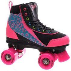 Luscious Retro Quad Roller Skates - Disco Diva - Uk 4 04 Child