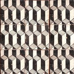 Italian floor tiles Handmade tiles can be colour coordinated and customized re. shape, texture, pattern, etc. by ceramic design studios
