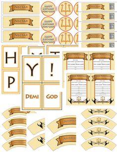 Demigod/Percy Jackson Inspired/Greek God/ by TionneStrife on Etsy, $16.99
