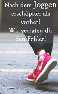 Vermeide Fehler beim Joggen, die dir Power wegnehmen statt sie dir zu geben! Wie Laufen auch für dich zum Power-Sport wird, verraten wir dir hier. Jog | Running | Sport Nordic Walking, Marathon Training, Jogging, Sport Motivation, Calisthenics, Survival Prepping, Weight Loss Tips, Health Fitness, Running
