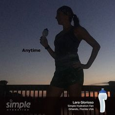 Simple Hydration One Word Series. Hydration Bottle, Florida, Racing Team, Orlando, Water Bottle, Running, Words, Simple, Orlando Florida
