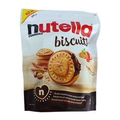 Бисквитное печенье с пастой Нутелла Biscuits Nutella Ferrero 304 гр, фото 2 Nutella Biscuits, Snack Recipes, Snacks, Chips, Food, Snack Mix Recipes, Appetizer Recipes, Potato Chip, Potato Chips