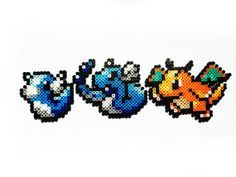 Pokemon Perler Dratini / Dragonair / Dragonite by ShowMeYourBits, $2.00
