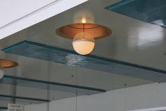 Alvar Aalto: Paimio ceiling light