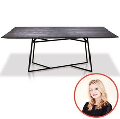 Lindsay Hair – LINDSAY HAIR INTERIORS selected Cliff Young, Ltd., Suite 505 Roro Dining Table